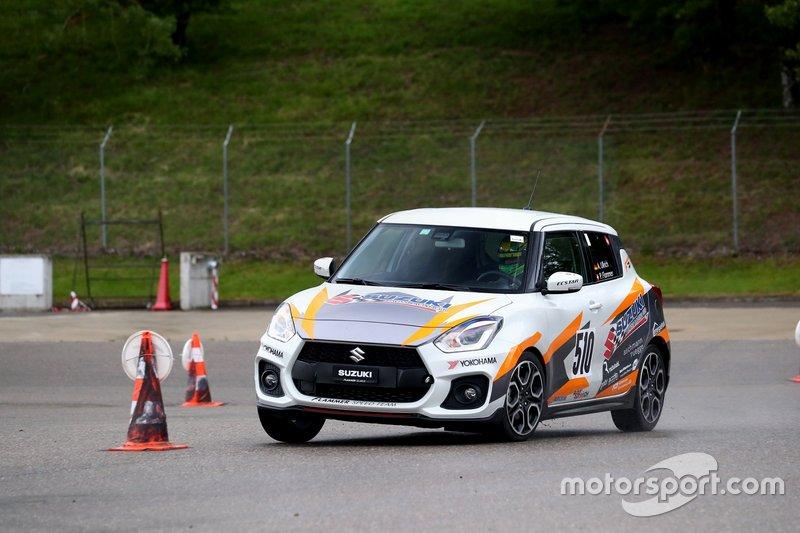 Martin Burki, Suzuki Swift, MB Motorsport Team