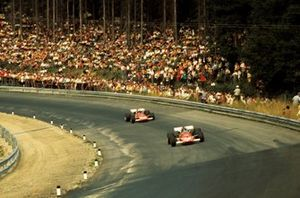 Jacky Ickx, Ferrari and Clay Regazzoni, Ferrari