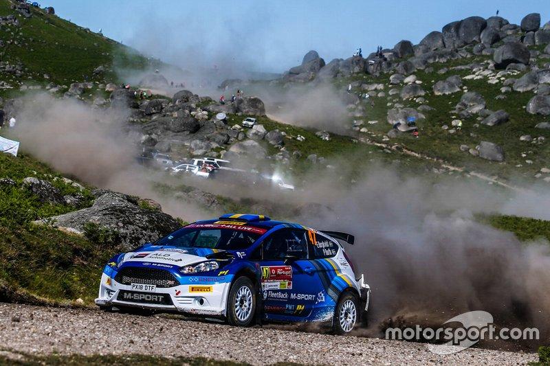Emil Bergkvist, Patrik Barth, Fiesta R5