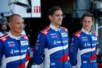 #11 SMP Racing BR Engineering BR1: Vitaly Petrov, Stoffel Vandoorne, #17 SMP Racing BR Engineering BR1: Stéphane Sarrazin