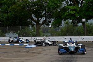 Takuma Sato, Rahal Letterman Lanigan Racing Honda, Simon Pagenaud, Team Penske Chevrolet, Graham Rahal, Rahal Letterman Lanigan Racing Honda