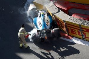L'accident de Robert Kubica, Williams