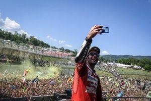 Podium : le vainqueur Danilo Petrucci, Ducati Team