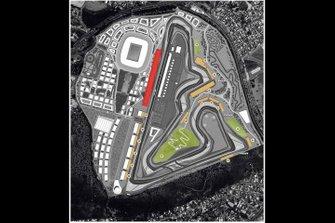 Proposed Rio de Janeiro circuit layout