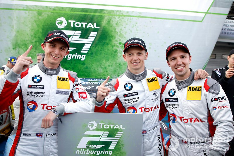Winner #101 Walkenhorst Motorsport BMW M6 GT3: Christian Krognes, David Pittard, Nick Yelloly