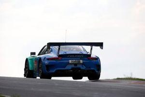 #44 Falken Motorsport Porsche 911 GT3 R: Jörg Bergmeister, Martin Ragginger, Dirk Werner