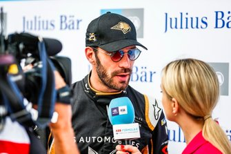 Jean-Eric Vergne, DS TECHEETAH, speaks to Georgie Barrat, TV Presenter