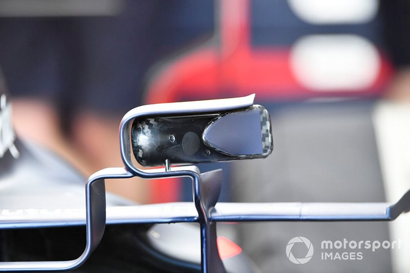 Espejos del Red Bull Racing RB15