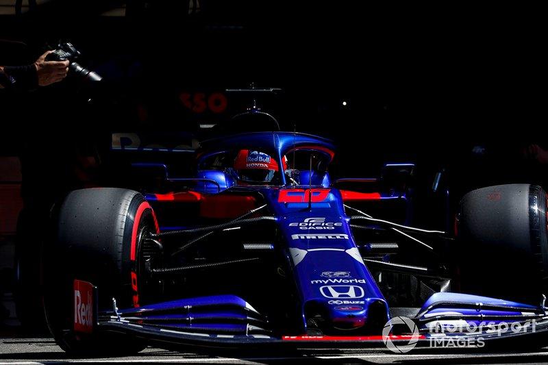 Daniil Kvyat, Toro Rosso, 8 puan