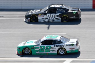 Alex Labbe, DGM Racing, Chevrolet Camaro Alpha Prime USA, Austin Cindric, Team Penske, Ford Mustang MoneyLion