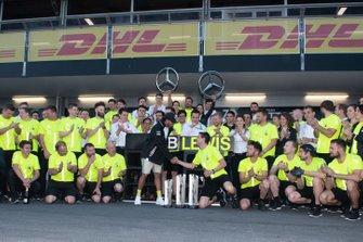 Lewis Hamilton, Mercedes AMG F1, Valtteri Bottas, Mercedes AMG F1 y de Mercedes