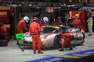 #70 MR Racing Ferrari 488 GTE: Motoaki Ishikawa, Olivier Beretta, Eddie Cheever III