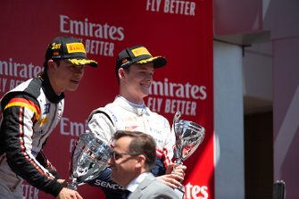 Podium: third place Callum Ilott, Sauber Junior Team By Charouz