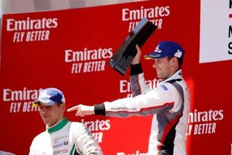 Podium: Race winner Julien Andlauer, BWT Lechner Racing