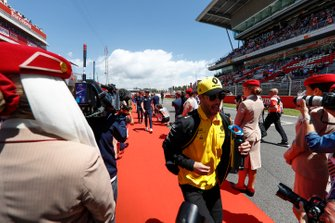 Daniel Ricciardo, Renault, at the drivers parade