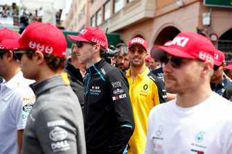 Robert Kubica, Williams Racing, en Valtteri Bottas, Mercedes AMG F1