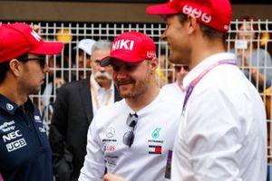 Sergio Perez, Racing Point, Valtteri Bottas, Mercedes AMG F1, ve Alexander Wurz
