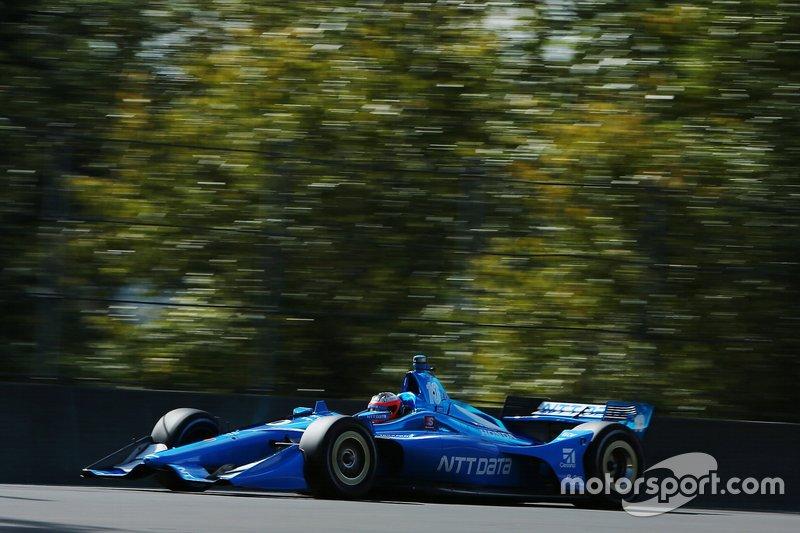 2. Felix Rosenqvist, Chip Ganassi Racing Honda