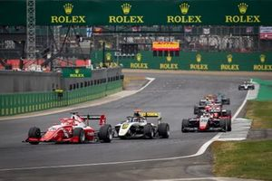Marcus Armstrong, PREMA Racing , Christian Lundgaard, ART Grand Prix , Leonardo Pulcini, Hitech Grand Prix