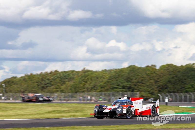 #7 TOYOTA GAZOO RACING - Toyota TS050 - Hybrid: Mike Conway, Kamui Kobayashi, Jose Maria Lopez Race