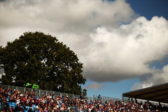 Les fans à Silverstone