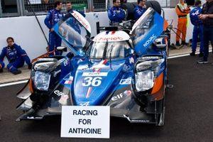 Автомобиль Alpine A470 (№36) команды Signatech Alpine Elf