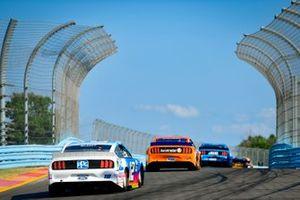 Ryan Blaney, Team Penske, Ford Mustang PPG, Brad Keselowski, Team Penske, Ford Mustang Autotrader, Kevin Harvick, Stewart-Haas Racing, Ford Mustang Busch Beer