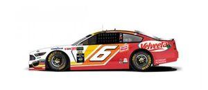 Throwback-Design: Ryan Newman, Roush Fenway Racing, Ford Mustang