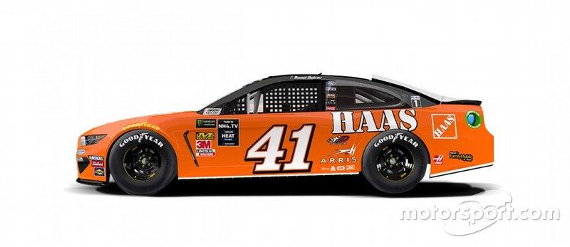 Daniel Suarez terá as cores do carro do atual patrão, Tony Stewart, quando era patrocinado pela Home Depot