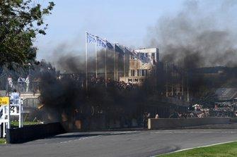 1959 RAC TT Celebration fire