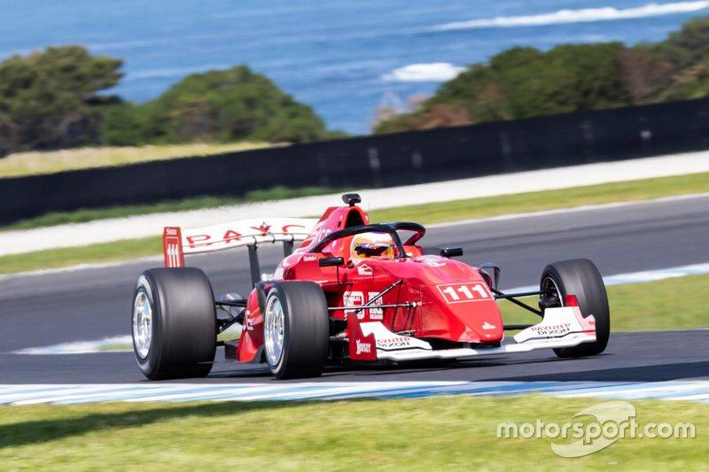 Treino de Rubens Barrichello, Team BRM S5000