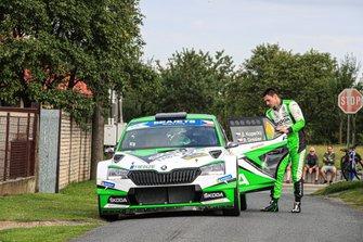 Ян Копецкий и Павел Дреслер, Skoda Motorsport, Skoda Fabia R5