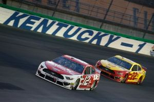 Ryan Blaney, Team Penske, Ford Mustang DEX Imaging Joey Logano, Team Penske, Ford Mustang Shell Pennzoil