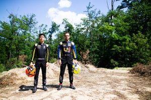 Jack Aitken, Campos Racing en Luca Ghiotto, UNI Virtuosi Racing