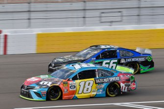 Kyle Busch, Joe Gibbs Racing, Toyota Camry M&M's Hazelnut, Joey Gase, Motorsports Business Management, Toyota Camry Nevada Donor Network