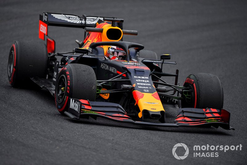 Abandono: Max Verstappen, Red Bull Racing RB15