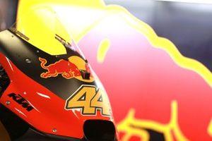 Detalle de la moto de Pol Espargaro, Red Bull KTM Factory Racing