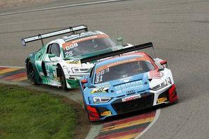 Patric Niederhauser, Kelvin van der Linde, Audi R8 LMS GT3, HCB Rutronik Racing