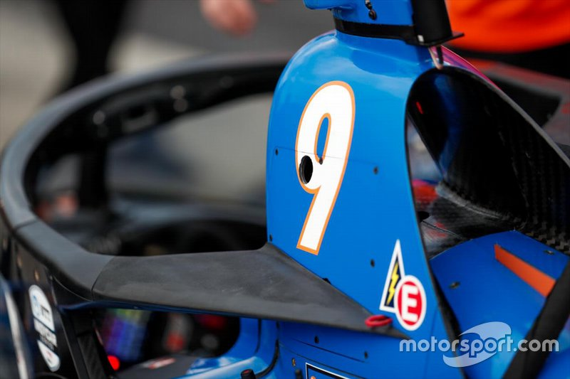 Scott Dixon, Chip Ganassi Racing Honda con l'aeroscreen