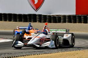 Colton Herta, Harding Steinbrenner Racing Honda, Scott Dixon, Chip Ganassi Racing Honda