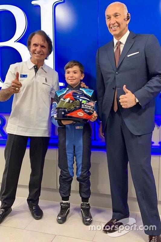Brand Institute com Emerson Fittipaldi e Emerson Fittipaldi Jr.