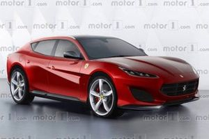 Ferrari Purosangue rendered