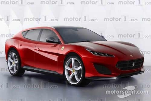 Is This A Powertrain Mule For The Ferrari Purosangue SUV?