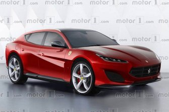 Ferrari Purosangue rendered