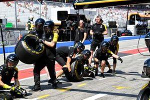 Renault pit ekibi