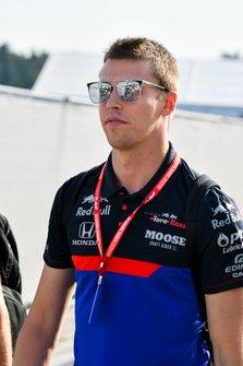 Daniil Kvyat, Toro Rosso arrives