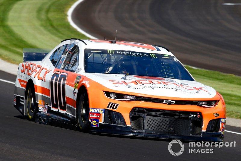 Landon Cassill, StarCom Racing, Chevrolet Camaro SHERFICK COMPANIES