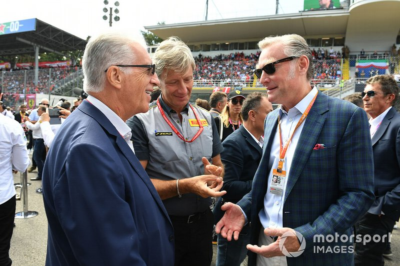 Sean Bratches, Director General de Operaciones Comerciales Formula One Group
