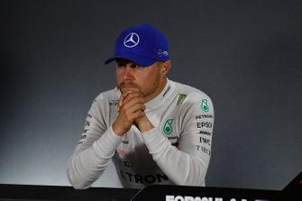Valtteri Bottas, Mercedes AMG F1, 2nd position, in the Press Conference