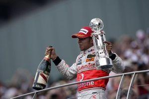 Podio: Lewis Hamilton, McLaren